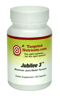 Stock up on Jubilee 3 supplement by Targeted Nutrients