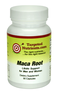 Maca Root supplement by Targeted Nutrients