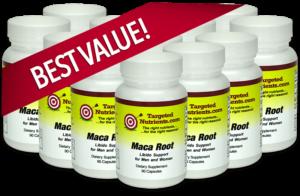 BEST VALUE! 12 Bottles of Maca Root