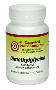 Stock up on DMG Dimethylglycine supplement by Targeted Nutrients
