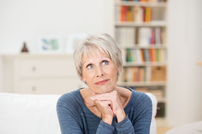 Mature, attractive woman thinking - Could This Amino Acid, DMG, Help Reverse High Cholesterol?