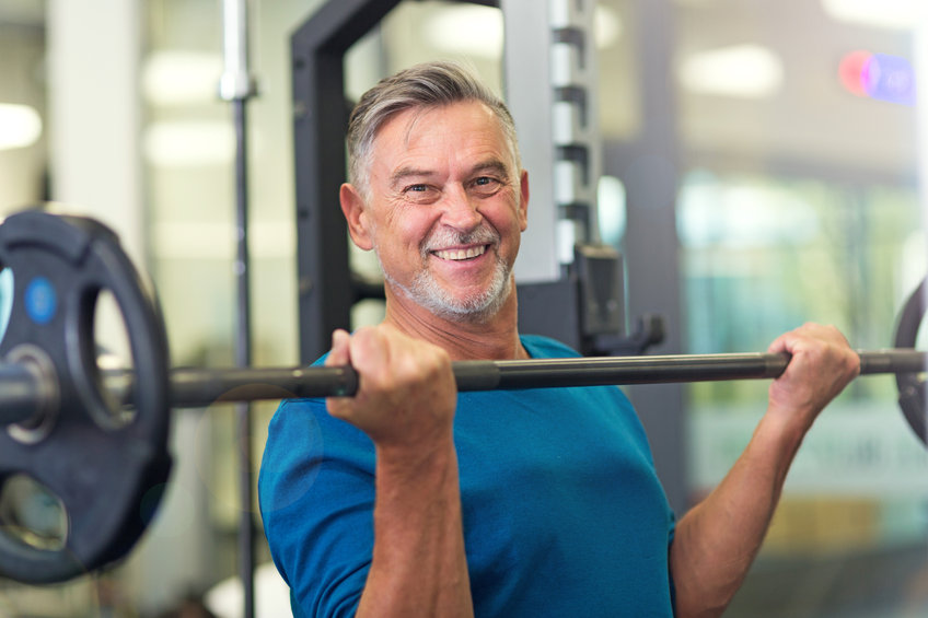 Mature man in health club - Are You Ready to Enjoy More Energy and Endurance?