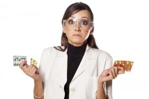 Scientist With Pills